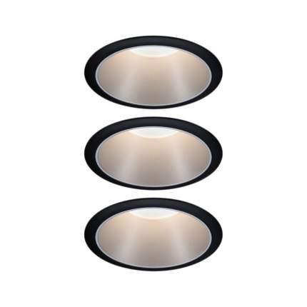 Встраиваемый светодиодный светильник Cole 3х6,5 Вт 2700 K Теплый белый 93408