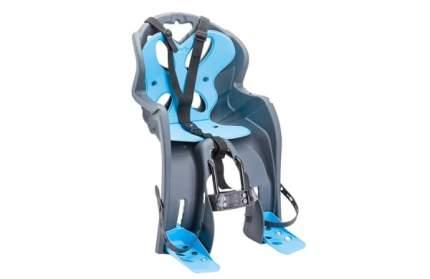 Велокресло детское LUIGINO (крепл.на раму спереди), (Италия)/280031, Серо-красное