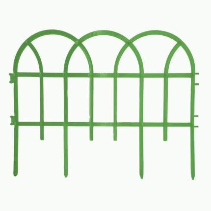 Декоративное ограждение Репка Готика зеленый