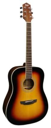 Акустическая гитара FLIGHT D-200 3TS Акустическая гитара