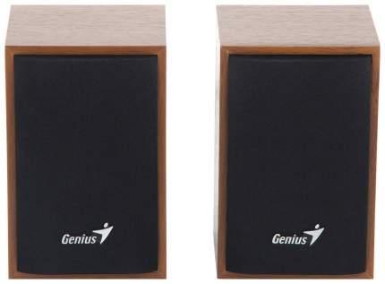 Колонки компьютерные Genius SP-HF160 Wood Коричневый