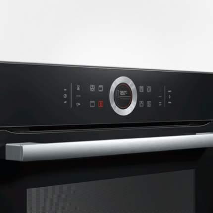 Встраиваемый электрический духовой шкаф Bosch HBG672BB1F Black
