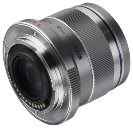 Объектив Olympus M.Zuiko Digital 45mm 1:1.8 Silver
