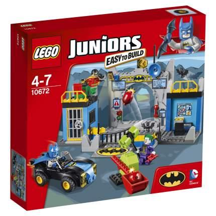 Конструктор LEGO Juniors Batman: Оборона Бэтпещеры (10672)