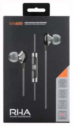 Наушники RHA MA600i Silver/Black