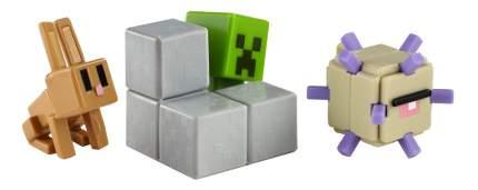 Игровой набор Minecraft Набор из 3х фигурок персонажей minecraft CGX24 DKD59