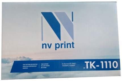 Картридж для лазерного принтера NV Print TK1110, черный
