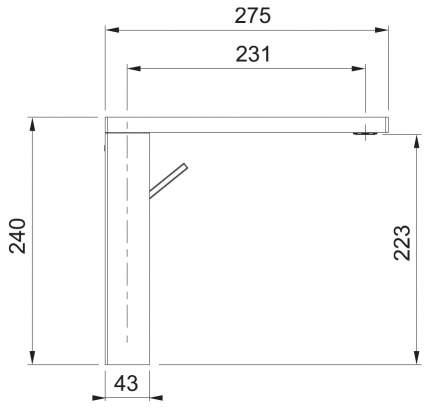Смеситель для кухонной мойки Franke Crystal 115.0474.673 хром