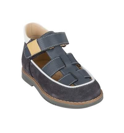 Туфли детские 25002 р.24 кожа, Ива серый