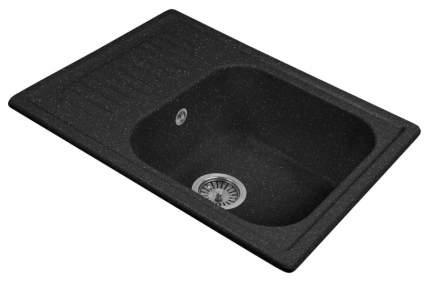 Мойка для кухни гранитная AquaGranitEx m-13 черный