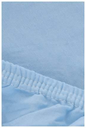 Простыня Легкие сны Color Way 107442 Голубой