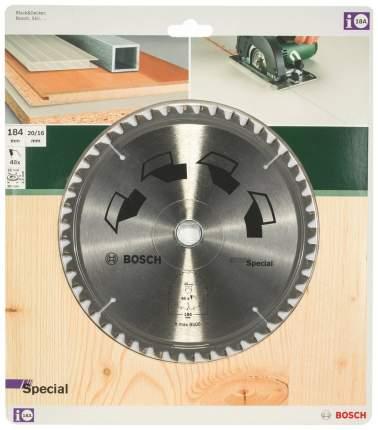 Пильный диск по дереву Bosch GS MU H 184x20-48 2609256890