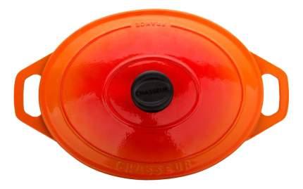 Кастрюля для запекания CHASSEUR Чугунная 3,6 л оранжевый