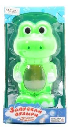Игрушка для запуска мыльных пузырей Лягушка Zhorya ZYB-B0390-2