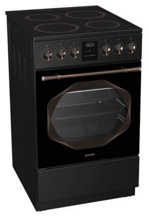 Электрическая плита Gorenje EC53INB черная