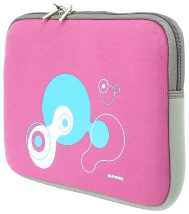 "Чехол для ноутбука 15.4"" Sumdex NUN-825MH розовый/серый"