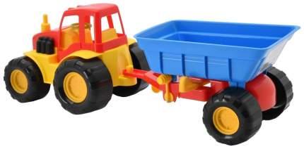 Трактор с прицепом ZebraToys Active 15-5229
