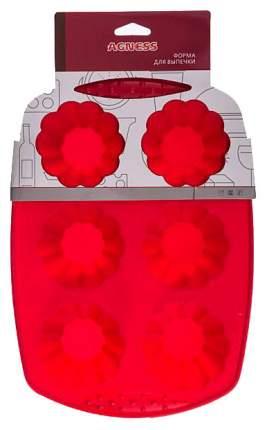 Форма для выпечки Agness 710-311 Красный