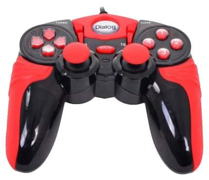 Геймпад Dialog GP-A15 Black/Red