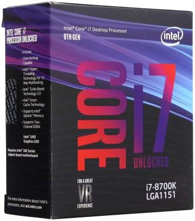 Процессор Intel Core i7 8700 Box