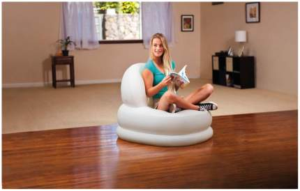 Надувное кресло Intex Mode Chair (84х99х76 см) с68591 Белый