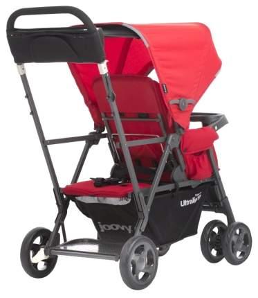 Коляска Caboose Graphite Ultralight красная для двоих детей