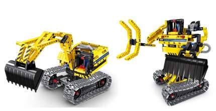Конструктор QiHui Экскаватор и робот 342 детали