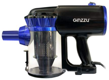 Вертикальный пылесос Ginzzu  VS117 Blue/Black