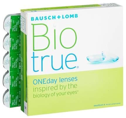 Контактные линзы Biotrue ONEday 90 линз +6,00