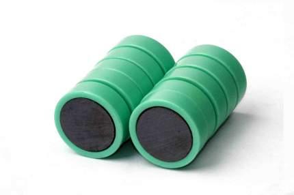 Магнит для магнитной доски FORCEBERG 20 мм, зеленый, 10шт.