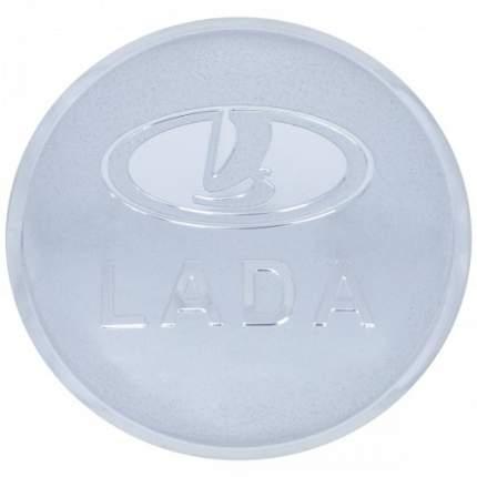 Наклейки на диски литые с логотипом автомобиля Лада 12050003 D-56 мм серебристые