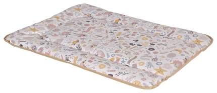 Доска пеленальная мягкая на комод Polini Kids Единорог Hello baby, 70х50 см, макиато