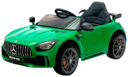 Электромобиль Sima-Land MERCEDES-BENZ GT-R AMG зеленый, EVA колеса, кожаное сидение