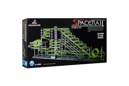 Динамический конструктор Космические горки, светящиеся рельсы, уровень 6 SpaceRail 233-6G