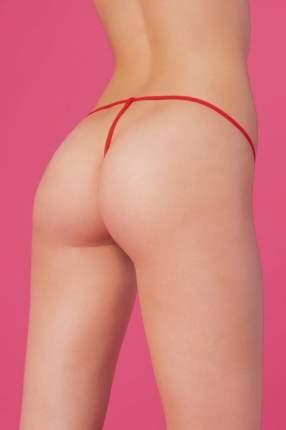 Сетчатые женские Т-стринги, красные