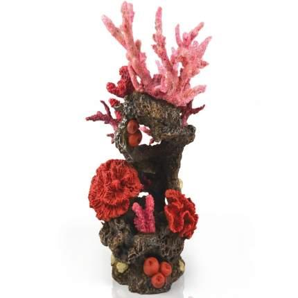 Декорация для аквариума biOrb Reef, орнамент Риф, красный, 33см