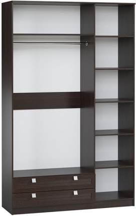 Платяной шкаф Divan.ru Кантри-3 150х50х240, венге