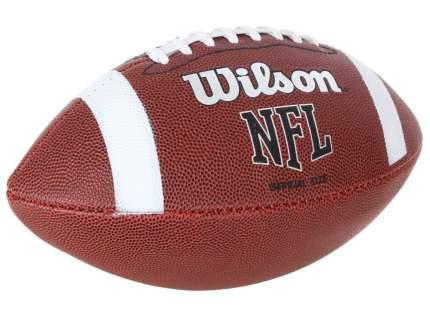 Мяч для американского футбола Wilson NFL Official Bin, коричневый