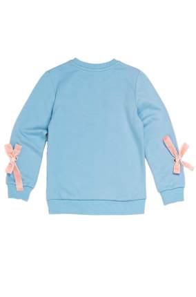 Толстовка Winkiki для девочки/свитшот, 110 голубой