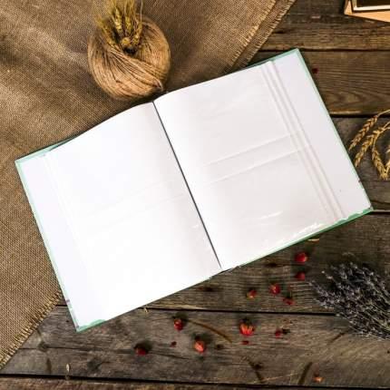 """Фотоальбом на 100 фото 10х15 см """"Единорог в цветах"""" в коробке26х20х5,5 см Sima-Land"""