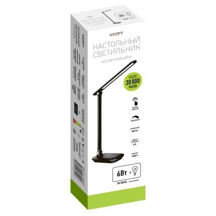 Светодиодный настольный светильник СТАРТ CT111 черный, LED 6Вт