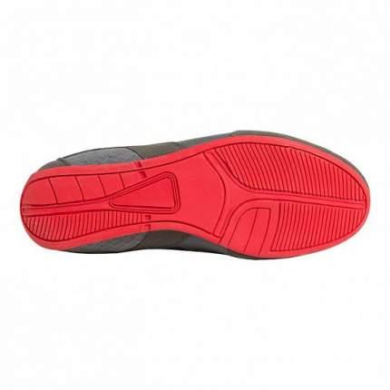 Боксерки Clinch Olimp C415, серые/красные, 44