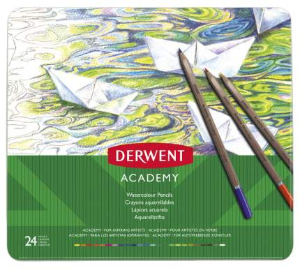 Карандаши цветные Derwent Academy 2301942 24 шт