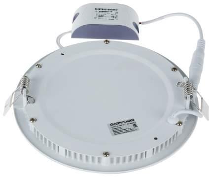 Встраиваемый светодиодный светильник Elektrostandard DLR005 12W 4200K WH Белый a035363