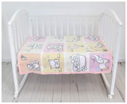 Одеяло Baby Nice Веселые картинки бежевое