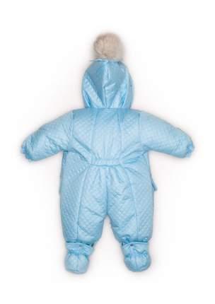 Комбинезон-конверт Malek-Baby трансформер светло-голубой 136шм/1 р.74