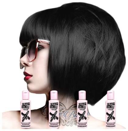 Краска для волос Crazy Color 32 Natural Black Натуральный черный 100 мл