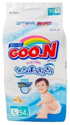 Подгузники Goo.N Premium L 9-14 кг 54 шт