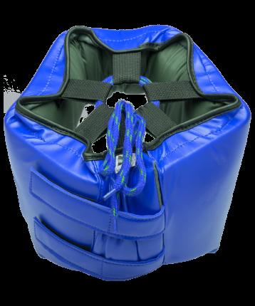 Шлем Green Hill открытый ORBIT, HGO-4030, детский, кожзам, синий (M)
