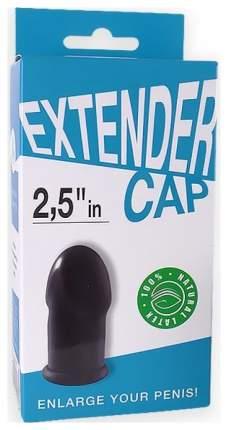 Насадка-удлинитель СК-Визит Extender Cap латексная 2.5 in черный